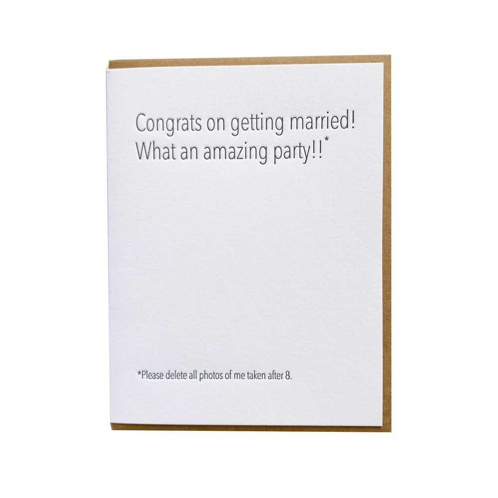 Wedding Photos Card