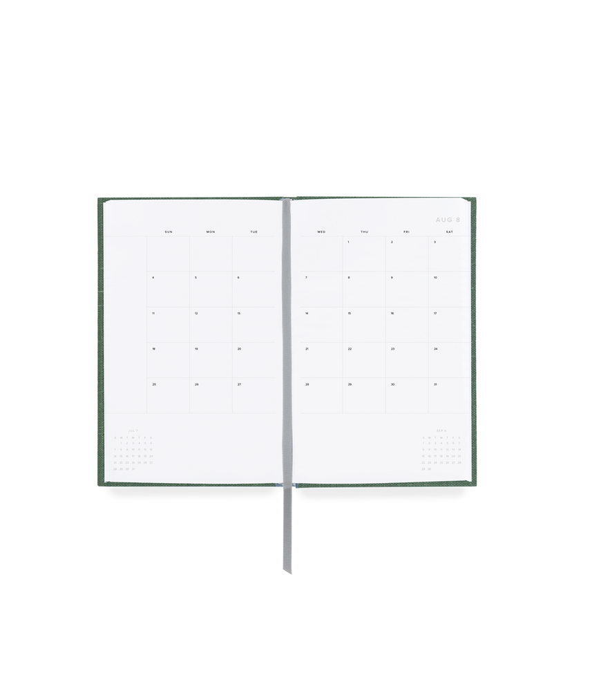 Appointed 20/21 Daily Task Planner - Fern Green - M.Lovewell