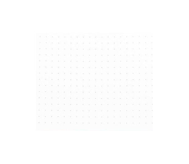 Archer & Olive Dot Grid - Red Leaf - M.Lovewell