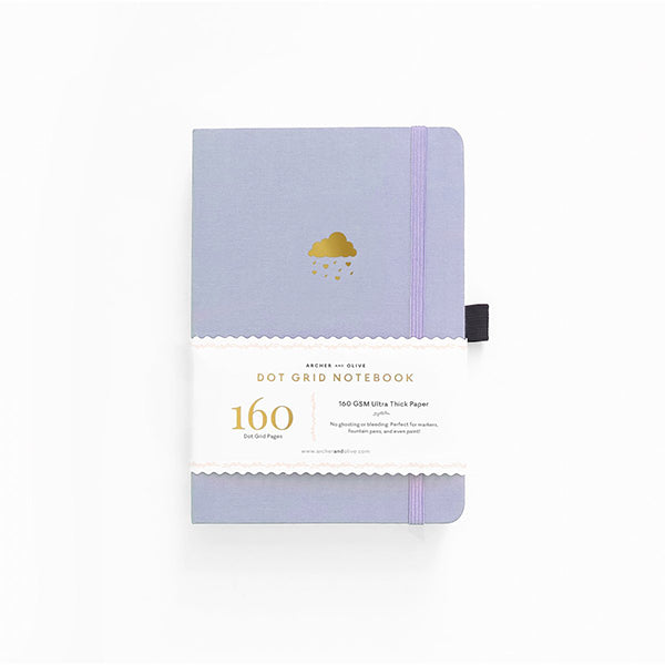 Archer & Olive Dot Grid Notebook - Cloud