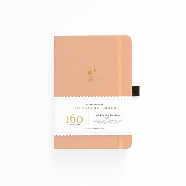 Archer & Olive Dot Grid Notebook - Solar