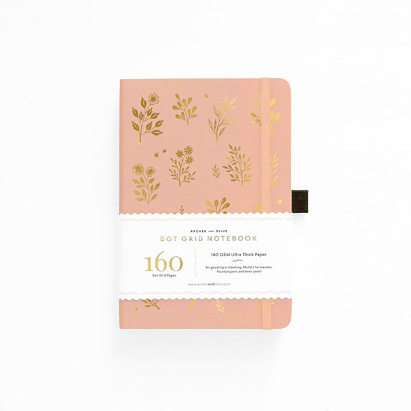 Archer & Olive Dot Grid Notebook - Vernal