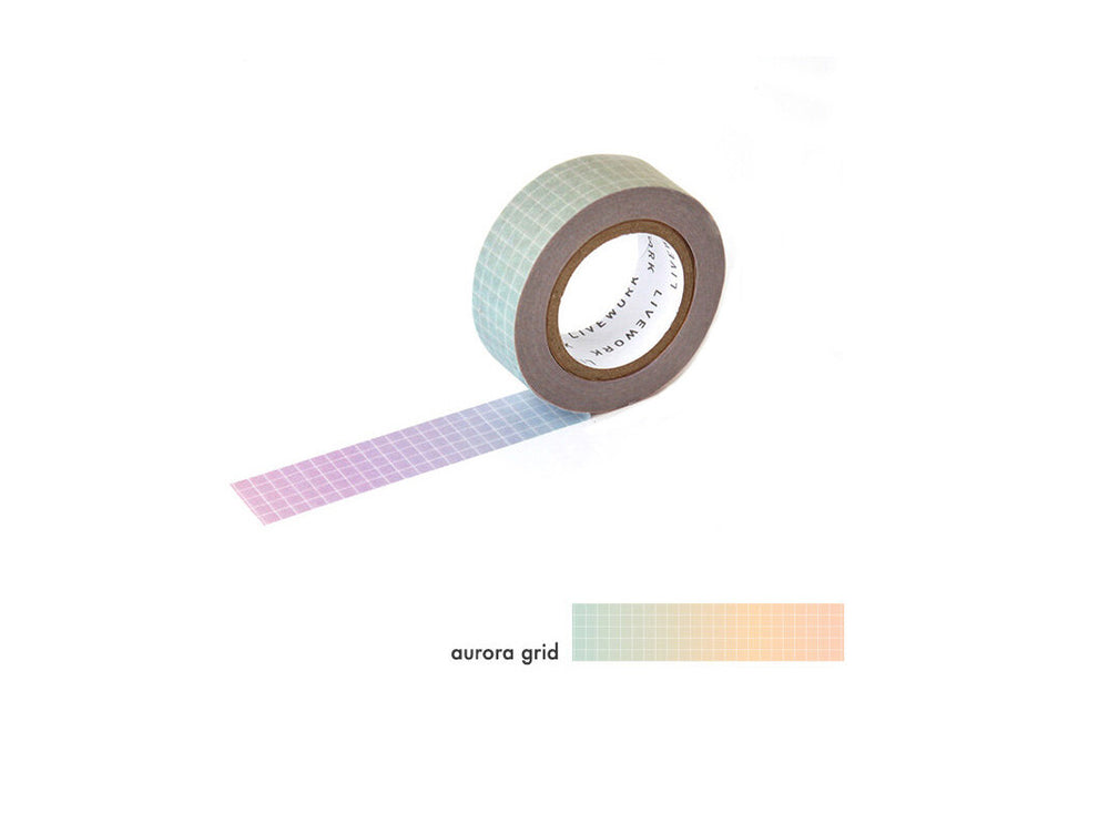 Aurora Grid Washi Tape