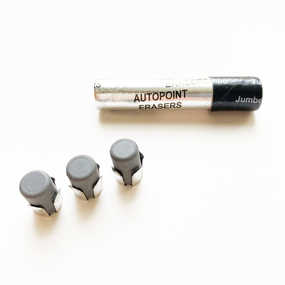 Autopoint Jumbo Mechanical Pencil Eraser Refill