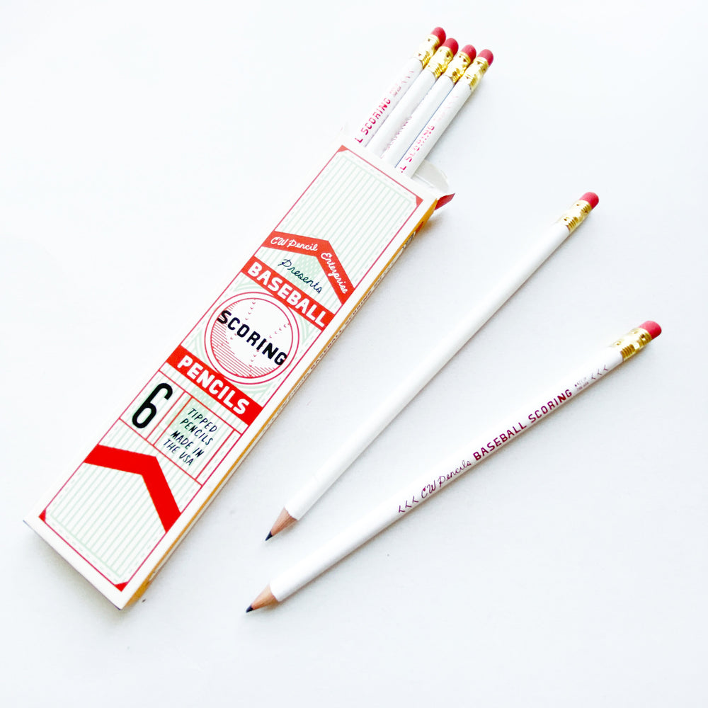 Baseball Scoring Pencil - M.Lovewell
