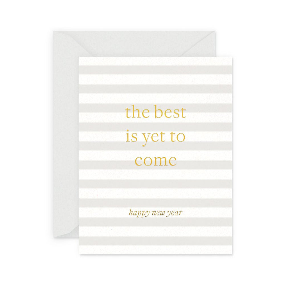 The Best is Yet to Come Happy New Year Card