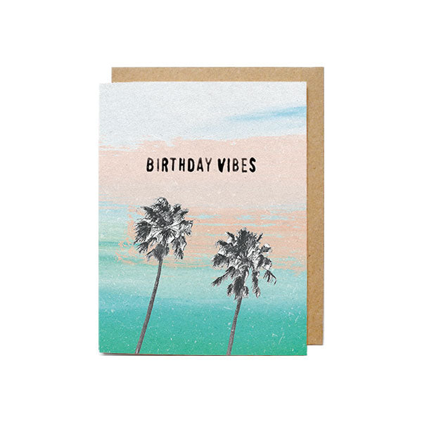 Birthday Vibes Card - M.Lovewell