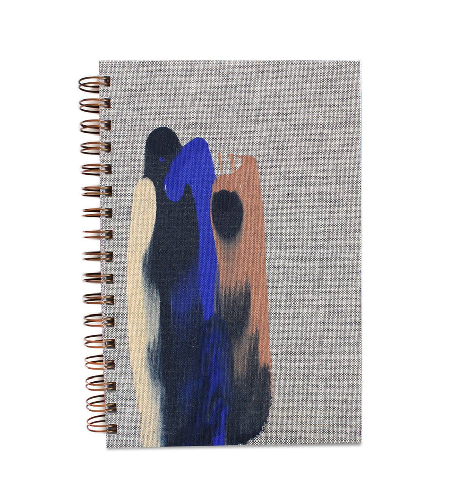 Blur Painted Notebook