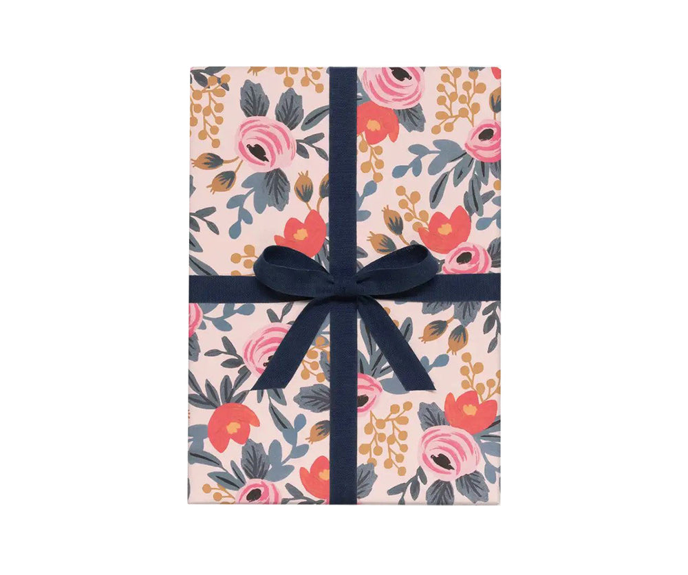 Blushing Rosa Gift Wrap Sheet