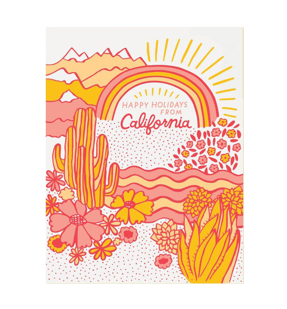 California Landscape Holiday Boxed Set of 6
