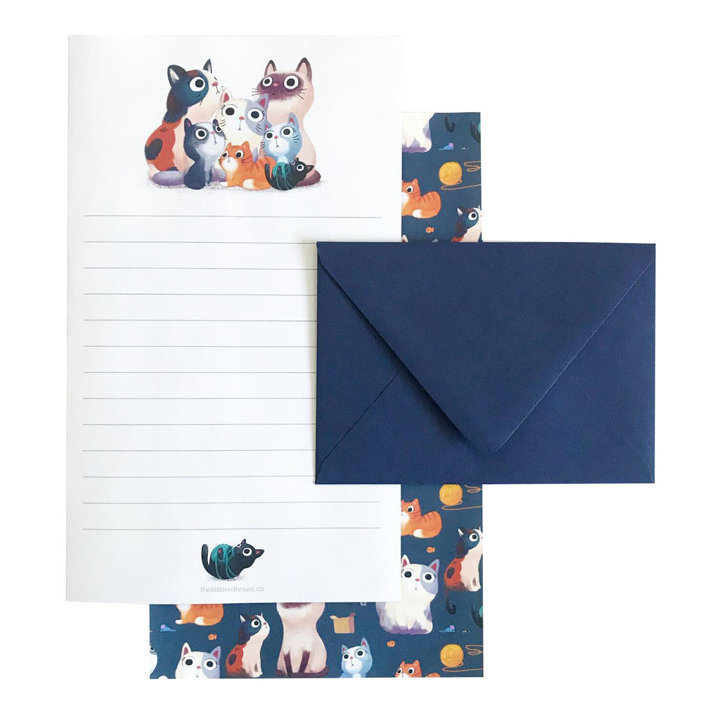 Cat Letter Set - M.Lovewell