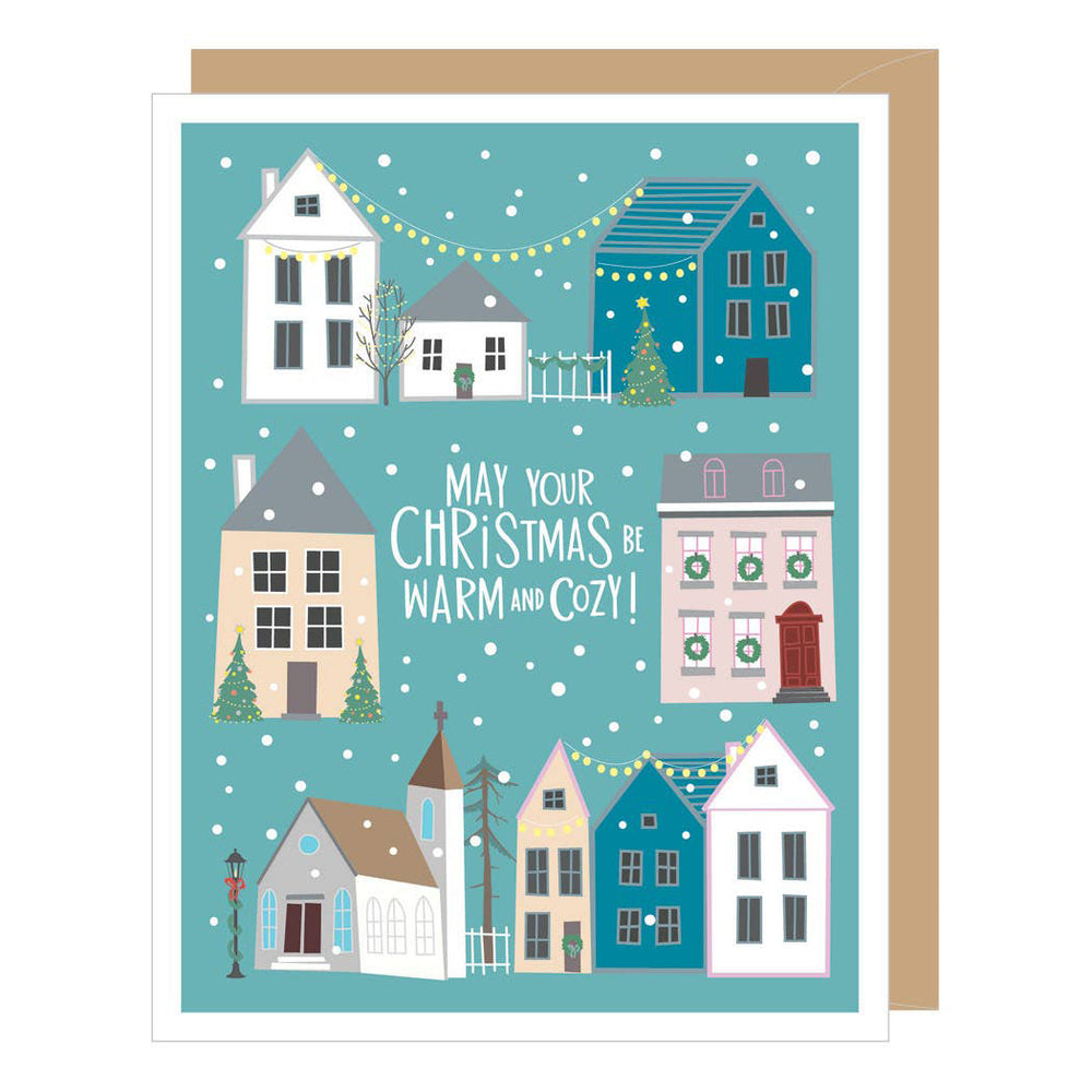 Christmas Village Boxed Set of 10