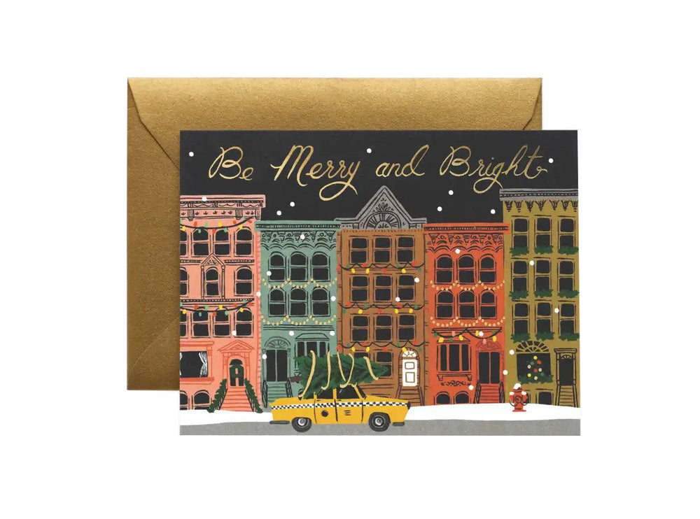 City Holiday Boxed Card Set of 8