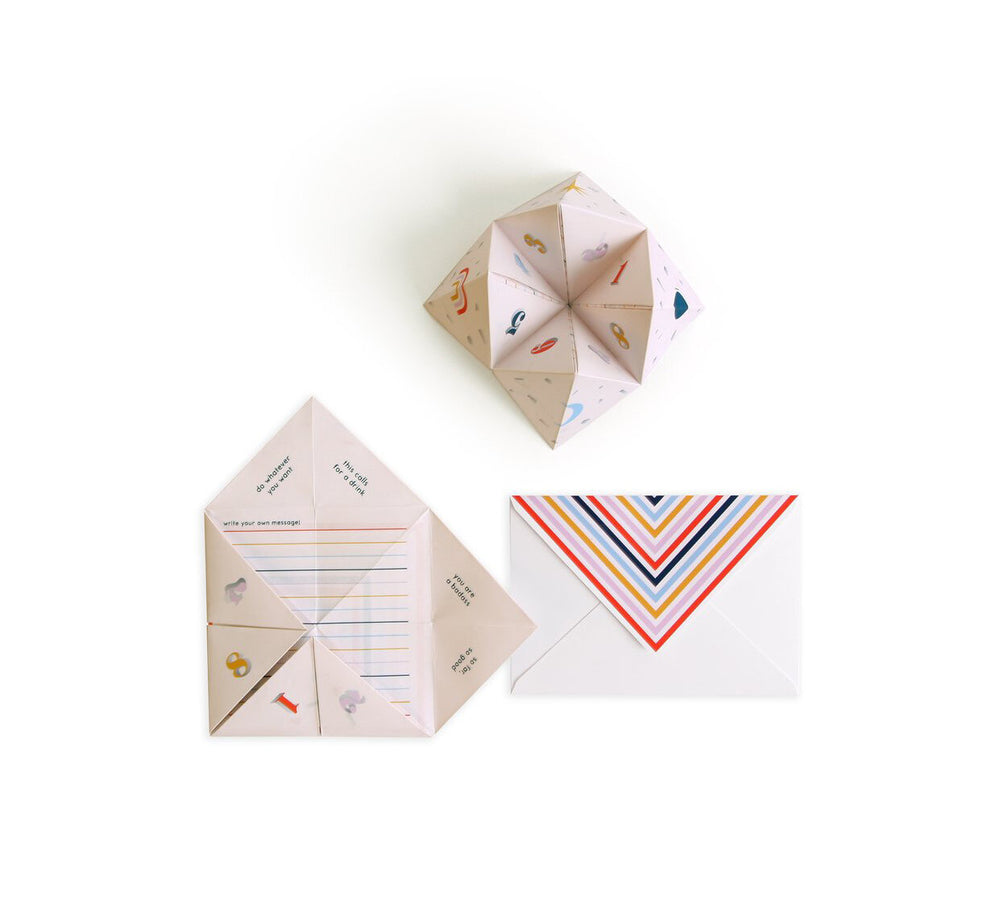 Cootie Catcher Card - M.Lovewell