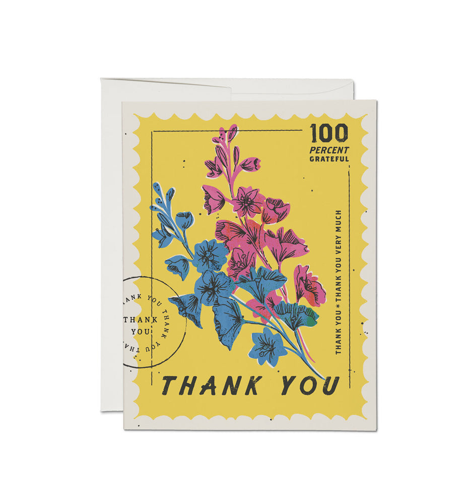 100 Percent Grateful Card