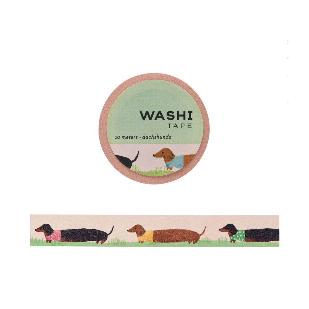 Dachshunds Washi Tape - M.Lovewell