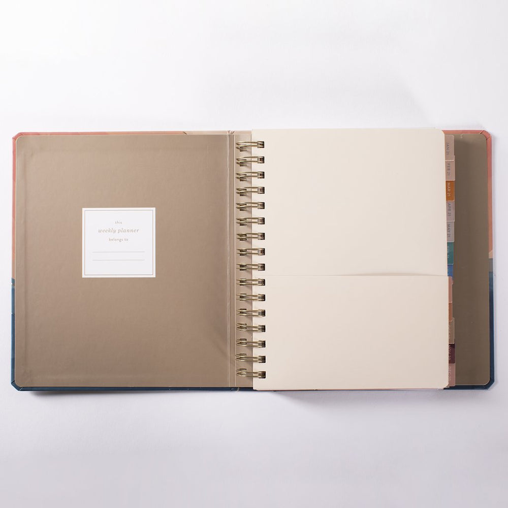 Day by Day 17 Month Planner - M.Lovewell