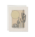 Desert Sunrise Proud Card - M.Lovewell