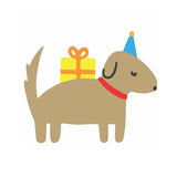 Dog Die Cut Birthday Card - M.Lovewell