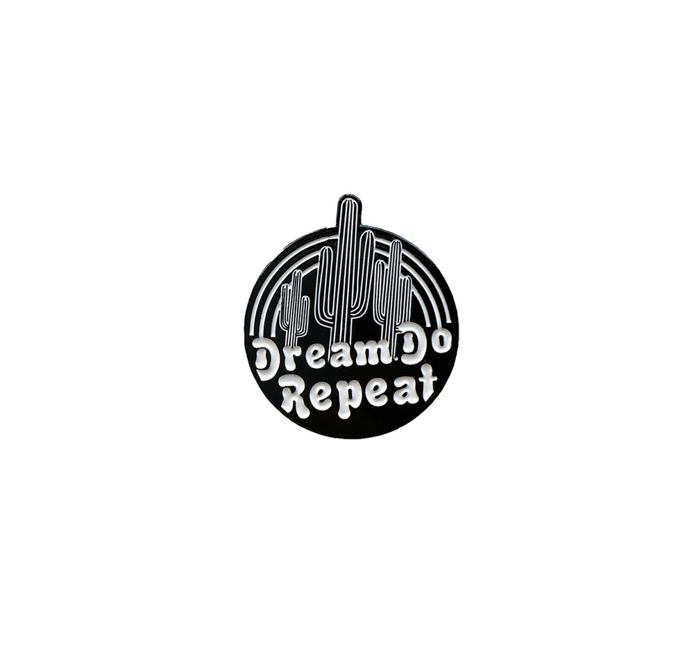 Dream Do Repeat Enamel Pin