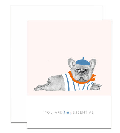 Essential Frenchie Card