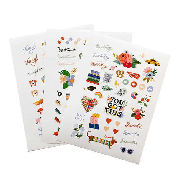 Everyday Planner Sticker Sheets
