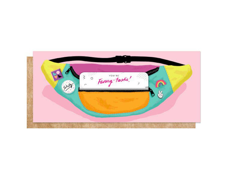 Fanny Pack Card