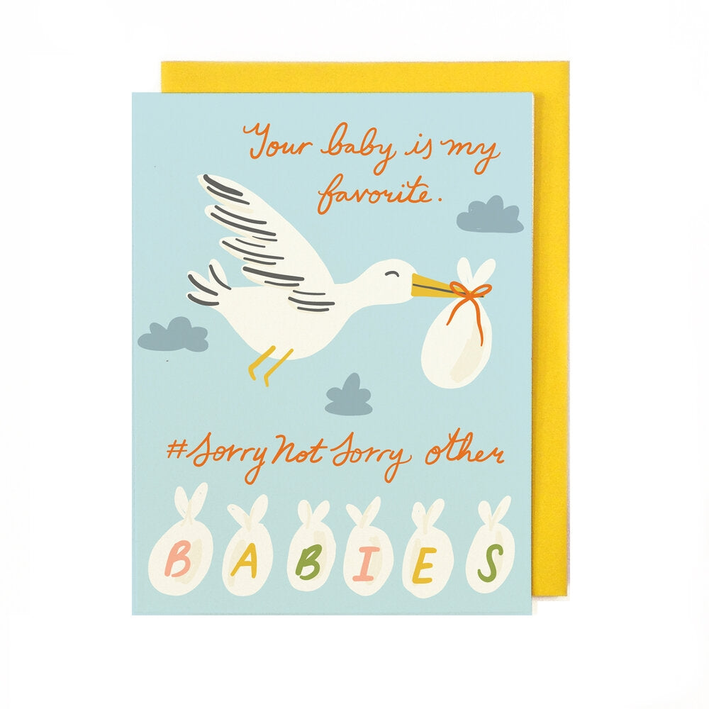 Favorite Baby Card