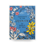 Floral Toile Graduate Card