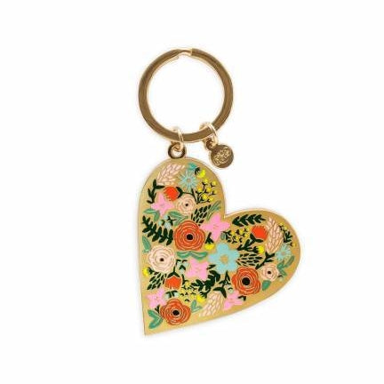 Floral Heart Keychain - M.Lovewell
