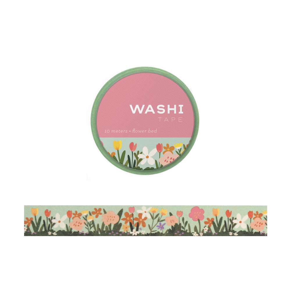 Flower Bed Washi Tape