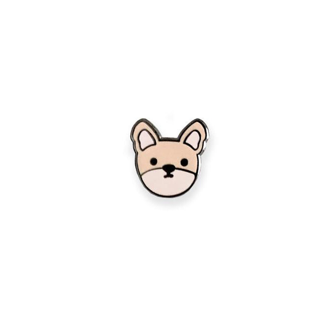 Frenchie Bull Dog Enamel Pin