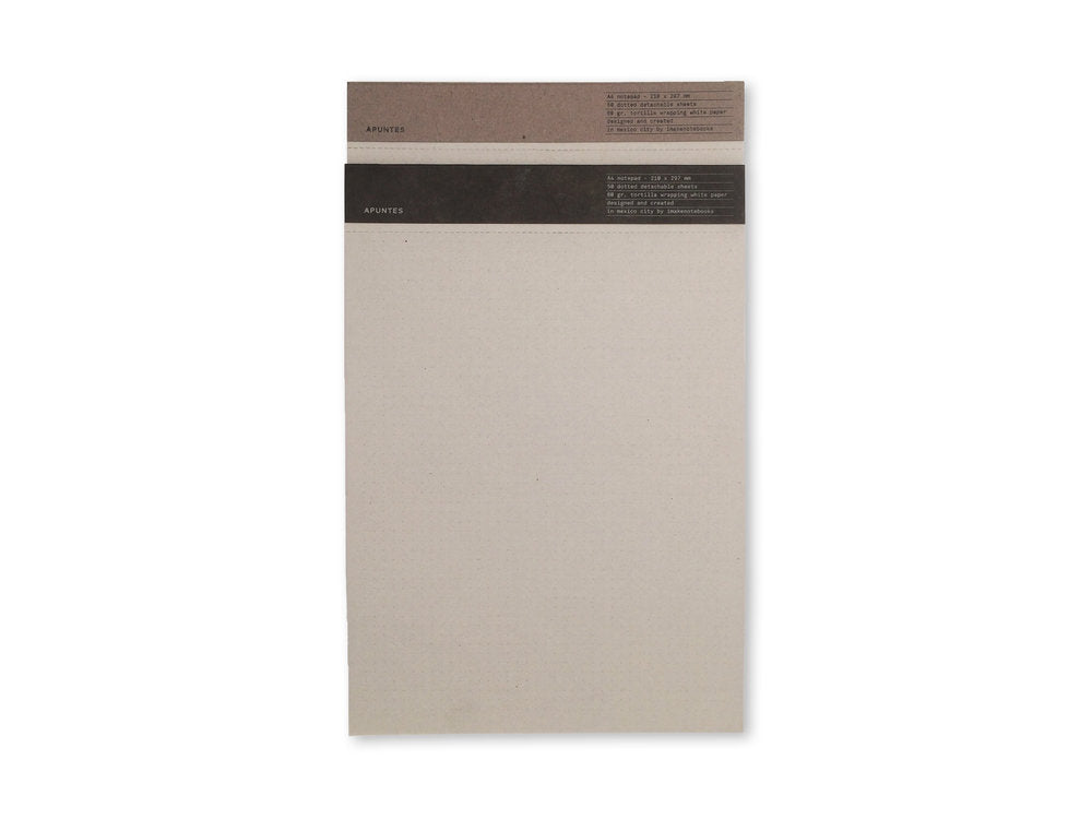 Apuntes Dot Grid Notepad - M.Lovewell
