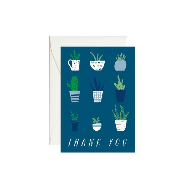 Plant Thank You Mini Card