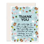 Grocery & Takeout Thank You Card