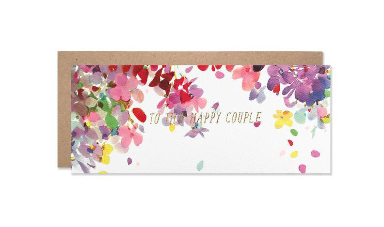 To The Happy Couple Wedding Card - M.Lovewell