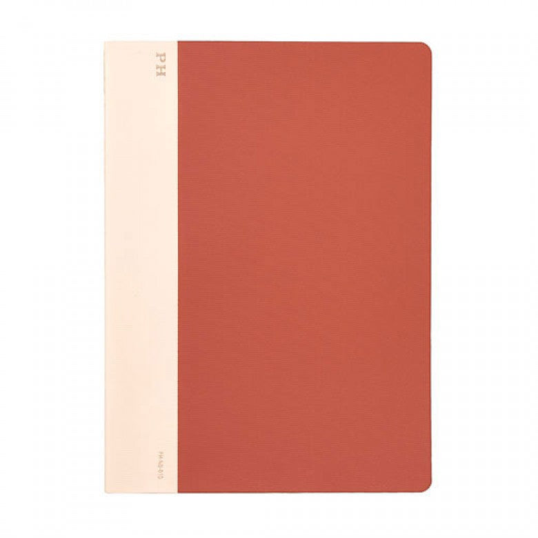 B5 Cheesecloth Lined Notebook - Brick Red - M.Lovewell