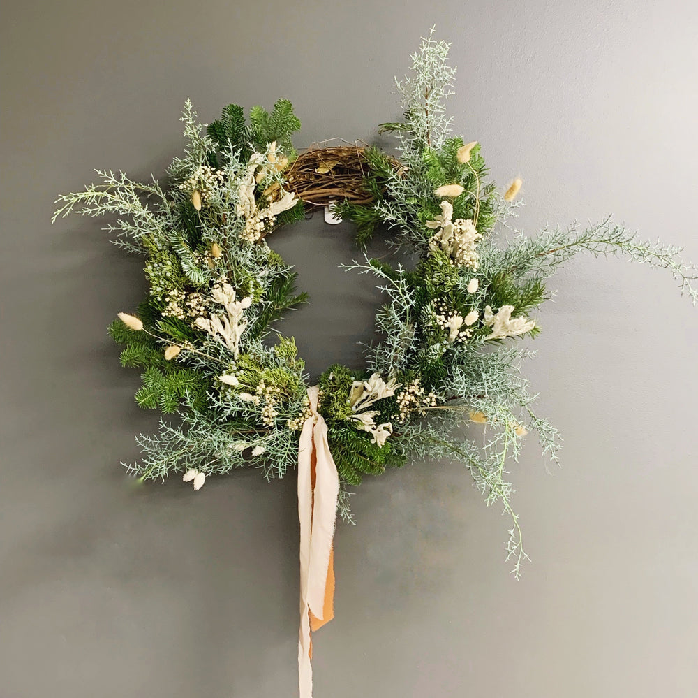 December 19: Holiday Wreath Making with Wild Muse Floral