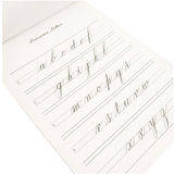 Copperplate Practice Pad - Lowercase Letters - M.Lovewell