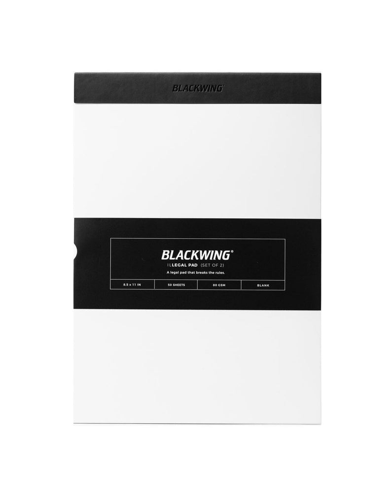 Blackwing Illegal Notepad - Blank