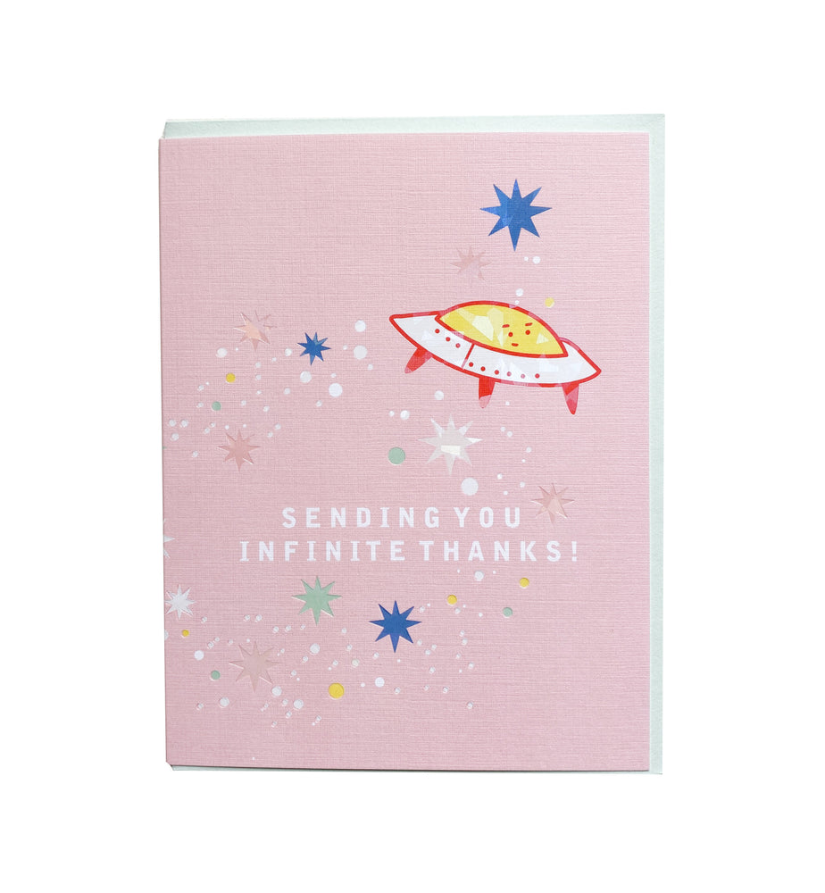 Infinite Thanks Card