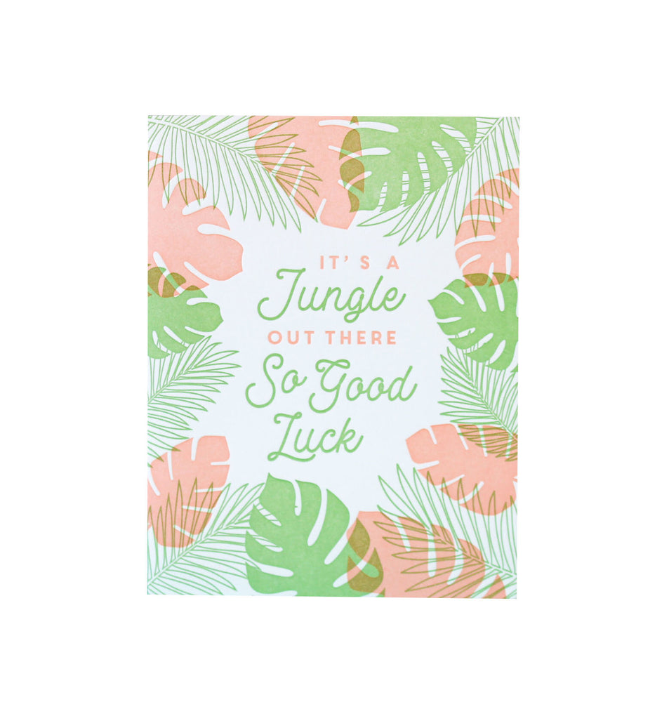 Jungle Out There Card - M.Lovewell