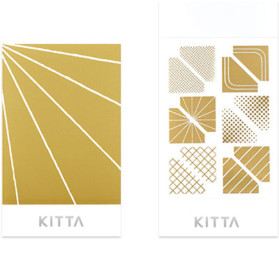 Kitta Clear Seal Sticker - Gold Frame
