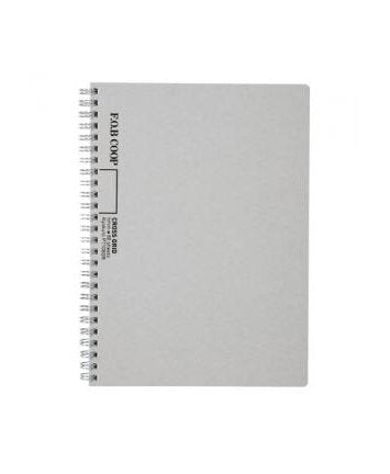 Kyokuto F.O.B COOP W Ring Notebook - Cross Grid