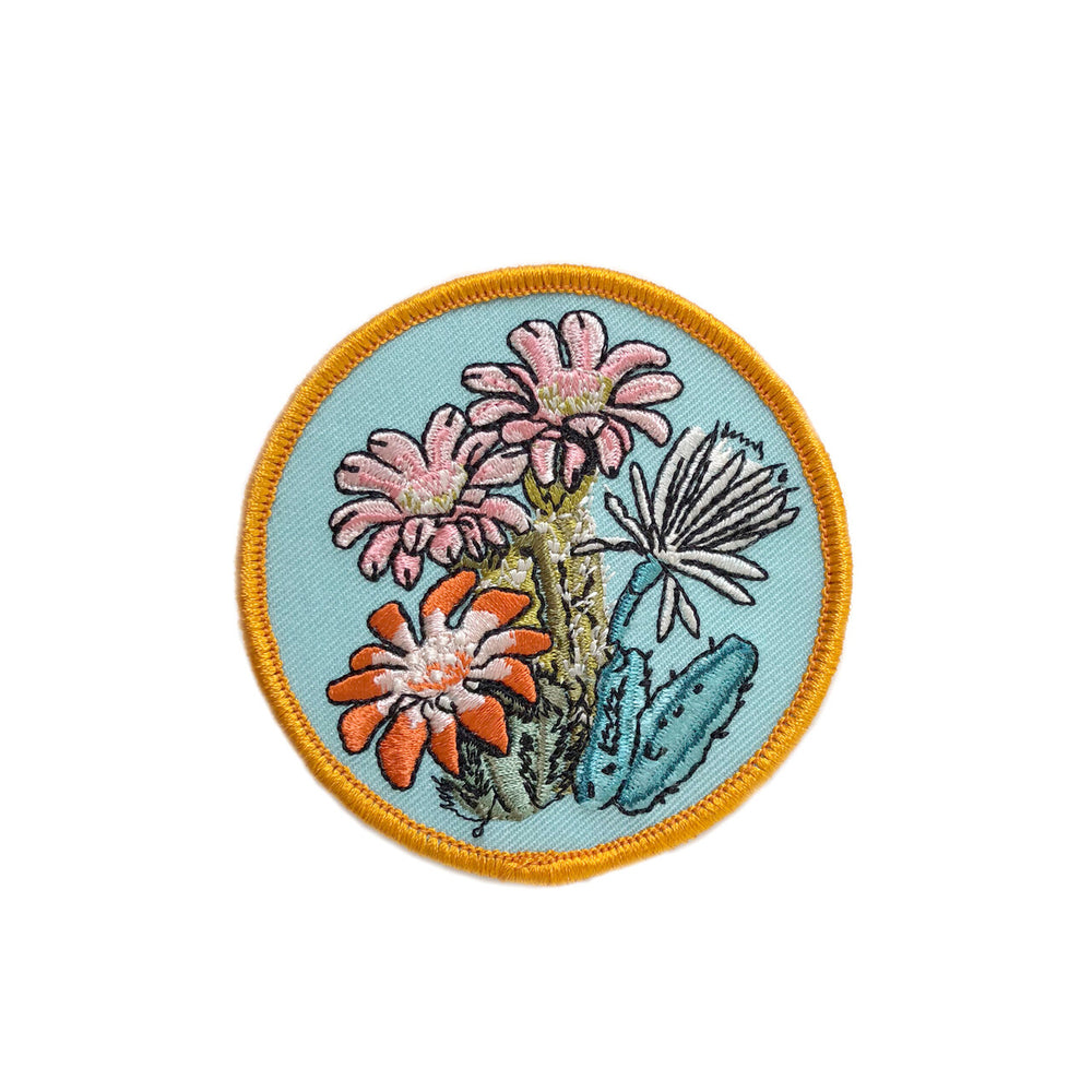 Cactus Blooms Patch - M.Lovewell