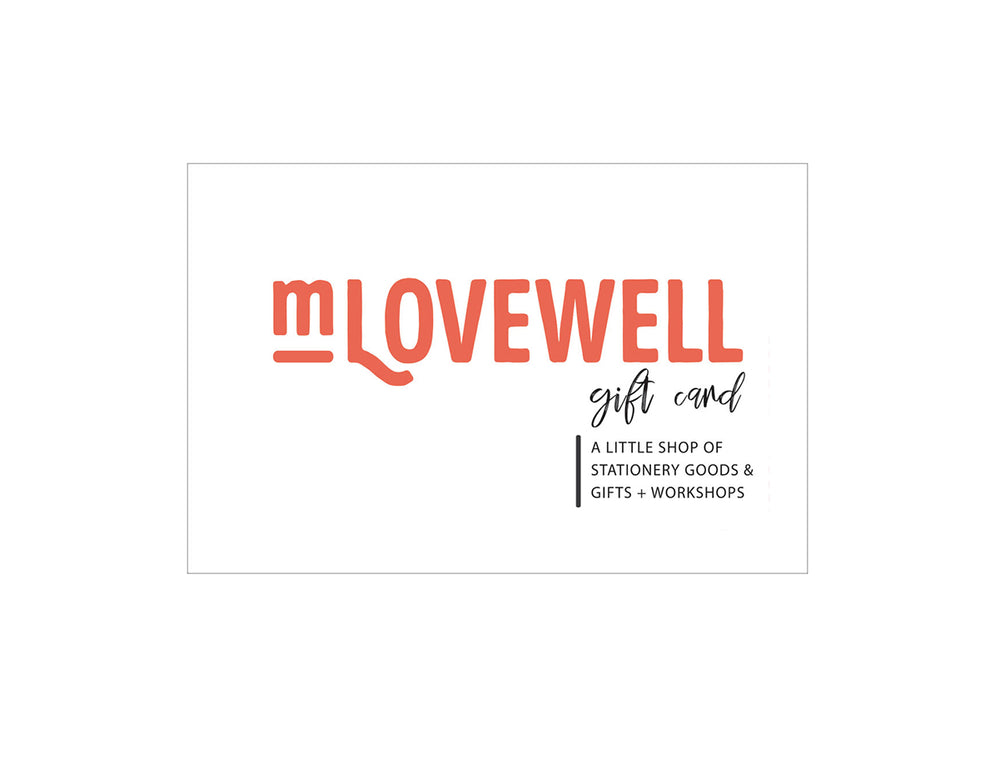 M.Lovewell Gift Card