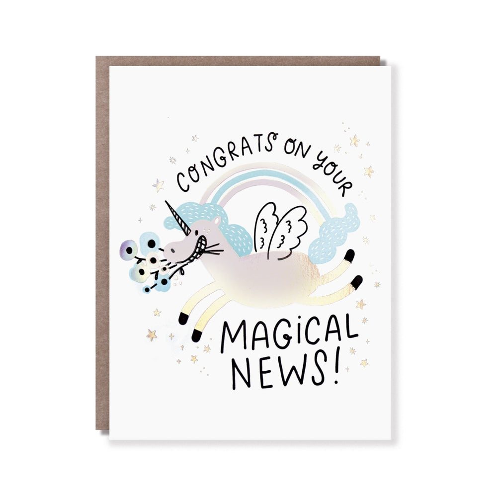 Magical News Card