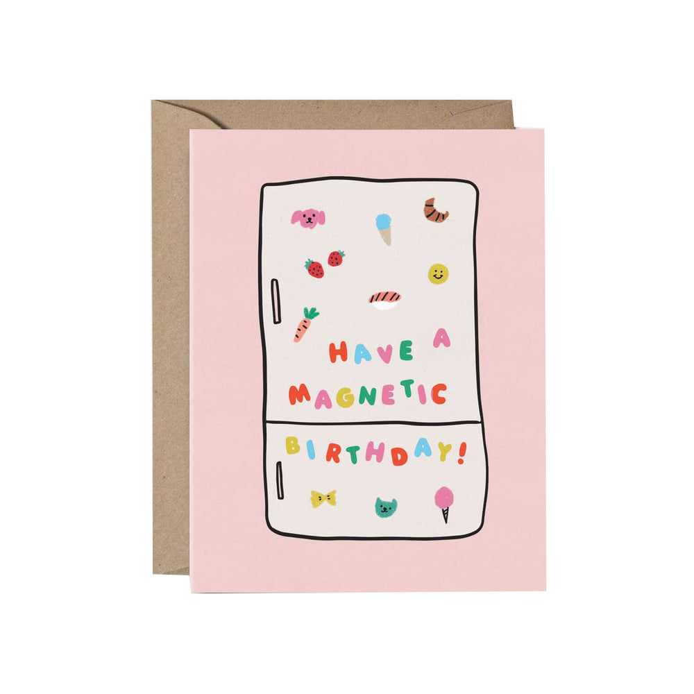 Magnetic Birthday Card