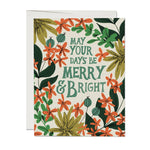 May Your Days Holiday Boxed Card Set of 8