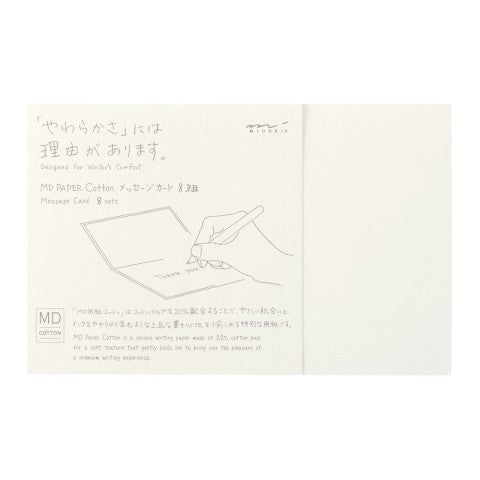 Midori Cotton Card Set of 8